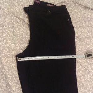 Black 16W sparkle jeans NWOT